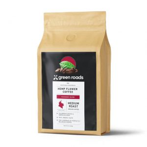 Founders blend hemp flower coffee 12oz 1