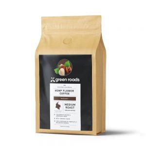 Hazelnut Hemp Flower Coffee - 12oz